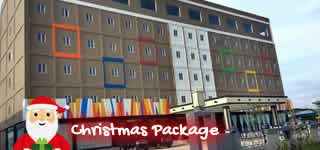 2D1N Golden Bay Hotel Christmas Package