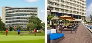 Padang Golf Sukajadi + Radisson Hotel