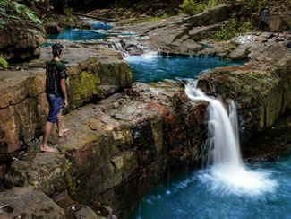 Telaga Bidadari Waterfall