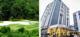 Tering Bay Golf + Sahid Batam Center Hotel